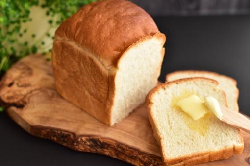 朝食,食パン,