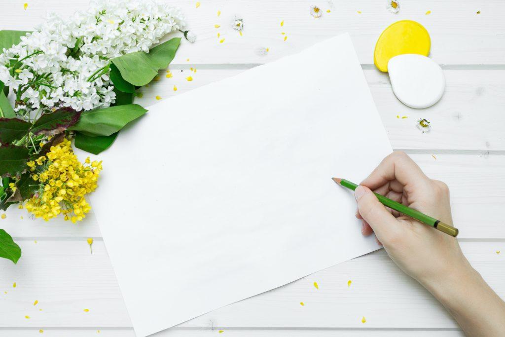 変わったストレス解消,紙に書く,